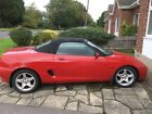 LARGER PHOTOS: MG MGF Red Car with full 12 Month MOT