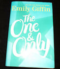 Emily Giffin The One  Only SIGNED FIRST EDITION HC DJ