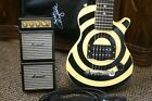 Epiphone Zakk Wylde Pee Wee Les Paul Electric Guitar w/Amp and Strap And Gig Bag