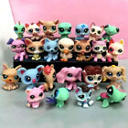 24Pcs RANDOM LITTLEST Pet SHOP Lot Girl Figures Auction Child Loose Lovely Toys