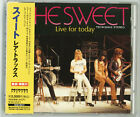 THE SWEET Live For Today CD JAPAN 1997 TECW-20412  with OBI s5497