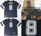 TROY AIKMAN,DALLAS COWBOYS,SIGNED,AUTOGRAPHED,COWBOYS JERSEY,COA,EXACT PROOF