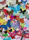 Butterfly dragonfly die cut punch scrapbooking lot assorted DIY