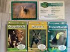 Learning Resources Animal Classifying Cards LOT Desserts Tropical Grasslands