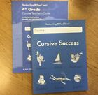NEW Handwriting Without Tears Cursive Success Workbook And Teachers Guide 4th Gr