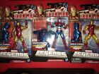 Marvel Legends Ironman Set of 3 Build a figure collection New excellent condtion