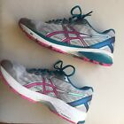 Asics Womens GT 1000 Running Sneakers Performance Size 10 T6A8N Grey Pink EUC