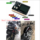 2017 Latest 20 HD Bike Motorcycle Dual Lens DVR Camera Digital Video Recorder