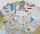Crate Paper Maggie Holmes CONFETTI 12x12 Paper Chipboard  Thickers Save 40
