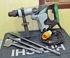 HITACHI DH40MR Rotary Hammer Drill Breaker SDS MAX 110v  new chisels in case