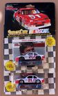 (2) NASCAR RACING CHAMPIONS DALE JARRETT #21 STOCK CAR COLLECTOR CARD AND STAND