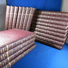 THE BOOK OF KNOWLEDGE 20 Volume Set Leather Gilt 1954 INCLUDING ANNUALS 1956 59