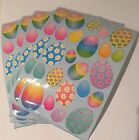 Sandylion Easter eggs Stickers lot of 5 SHEETS 4 X 6