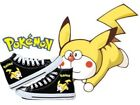 New Anime Pokemon Pikachu cosplay personality High help canvas shoes