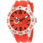 *BRAND NEW* NAUTICA Men's Stainless Steel Red Strap Wacth N16602G - GREAT PRICE