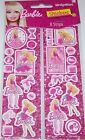 DesignWare Sticker Strips Barbie 8 strips Great For Party Favors NEW