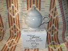 POST '86 RETIRED FIESTA PEARL GRAY LARGE TEA POT -FIESTAWARE    l30