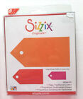 Sizzix Originals Red Die Tags Traditional Combo 654688 Brand New Sealed Re