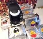 TASSIMO Gourmet Coffee Maker Bundle + 117 Coffee T Discs Variety Fully Tasted 86