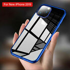 For Appple iPhone X 8 6s 7 PLUS Luxury Slim Plating Clear Soft Back Case Cover
