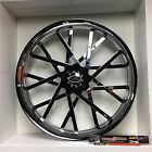 09 up Harley Davidson 21 front Wheel Custom Chrome Wheel Style 113c