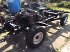 1986 LAND ROVER 110 V8 STATION WAGON ROLLING CHASSIS GREEN D REG
