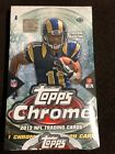 2013 TOPPS CHROME FOOTBALL HOBBY BOX (FROM CASE) Brand New