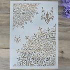 1 X Layering Stencils Template For Wall Painting Scrapbooking Stamping Craft