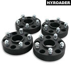 4pc Black 5x5 Hub Centric Wheel Spacers 15 Inch for Jeep Commander 2006 2010