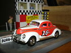 1940 FORD COUPE Stock Car 1:43 Highly Detailed, Buck Baker with Original Box