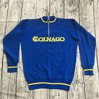 Vintage COLNAGO ITALIA Cycling Clothing Spell Out Half Zip Sweater Sweatshirts
