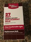 New Better Homes and Gardens 27 Watt 4 Pins Quad 6500K daylight Replacement Bulb