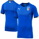 Puma Italy National Team Blue 2018 World Cup Home Authentic Blank Jersey