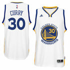 adidas Stephen Curry Golden State Warriors Youth Boys White Replica Jersey
