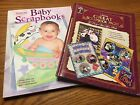 Memory Makers Baby Scrapbooks And Great Pages Books Lot Set