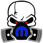 Mopar Skull Vinyl Decal Sticker Car Truck Laptop Dodge Charger Ram Challenger