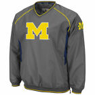 Michigan Wolverines Charcoal Hardball II Pullover Jacket College