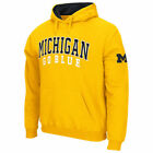 Stadium Athletic Michigan Wolverines Maize Double Arches Pullover Hoodie