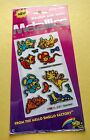 VINTAGE 80s PACK MELLO SMELLO METALLICS SNIFF STICKERS CATS MICE BUTTERFLIES