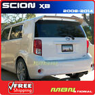 08+ Scion XB Trunk Roof Spoiler Painted ABS 1F7 CLASSIC SILVER METALLIC