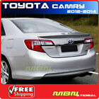 2012 2014 Toyota Camry Sedan Trunk Spoiler Painted 1F7 CLASSIC SILVER METALLIC