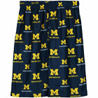 Michigan Wolverines Youth Navy Blue Printed Pajama Shorts College