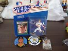 1989 Starting Lineup Mark McGwire Action Figure, Key Chain & 2 Pins