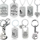 Christmas Gifts For Mum Dad Son Daughter Necklace Keyring Mother Mom Presents