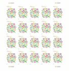 2014 LOVE FLOWERS				20	FOREVER STAMPS	S003424