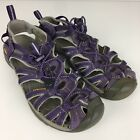 KEEN Womens 10 Purple Whisper Water Sandals Shoes Outdoor Gently Worn Camping
