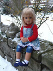 Masterpiece Galleries Skye jointed doll,34 inches,4 year old child sized,
