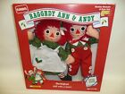 Playskool Raggedy Ann & Andy Special Holiday Edition New in Box