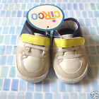NWT Circo White Navy Yellow Infant Baby Casual Sneakers Size 0 3 month