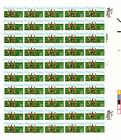 2043 20c PHYSICAL FITNESS NH FULL SHEET OF 50FACE1000 S003517